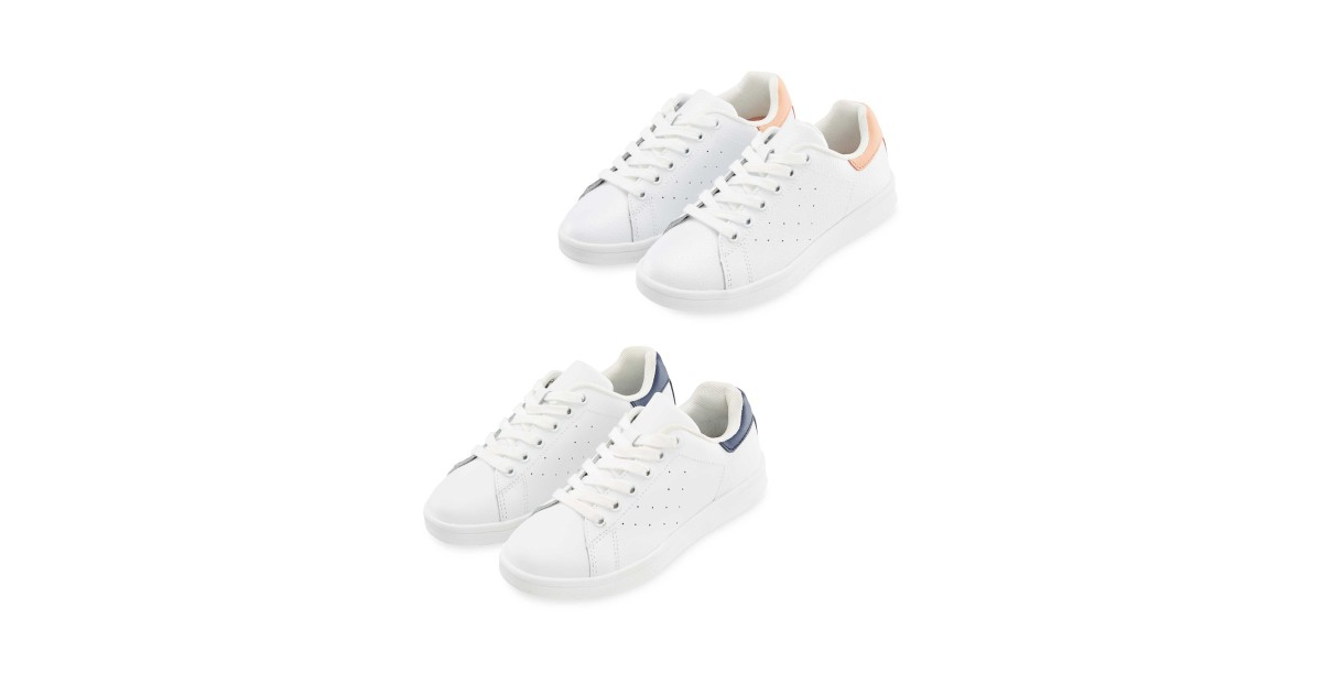 c0e6b758765ed Lily & Dan Kids Casual Trainers - ALDI UK