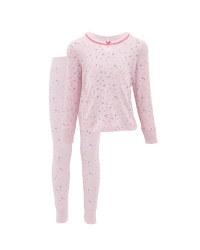 Children's Pink Stars Pyjamas