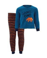 Children's Fleece Gamer Pyjama Set