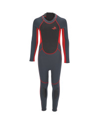 Children's Full Length Wetsuit - Red
