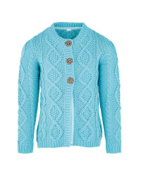 Childrens Light Blue Cardigan