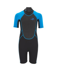 Children's Shorty Wetsuit - Blue