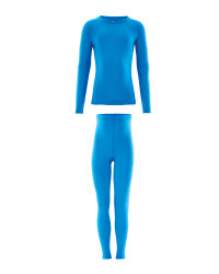 Childrens Sports Base Layer Set - Blue