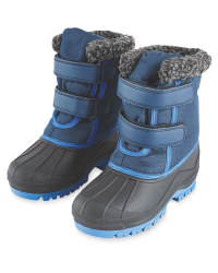 Childrens Snow Boots Blue