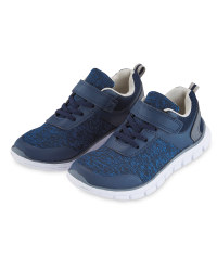 Children's Trainers - Grey/Blue