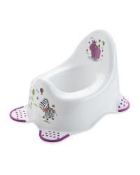 Childrens White Hippo Potty