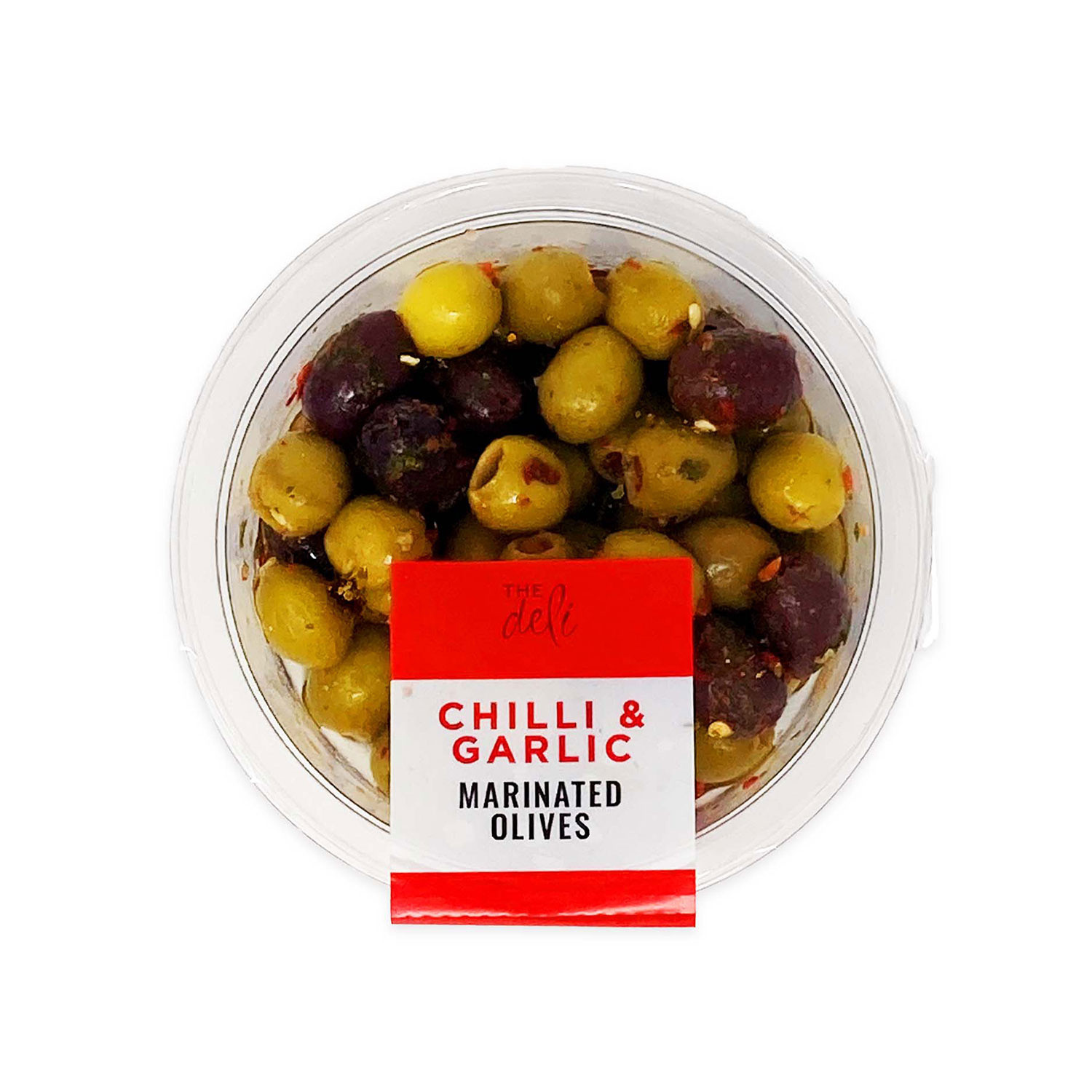 Chilli & Garlic Marinated Olives