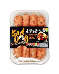 Chilli Cheese Hot Dogs