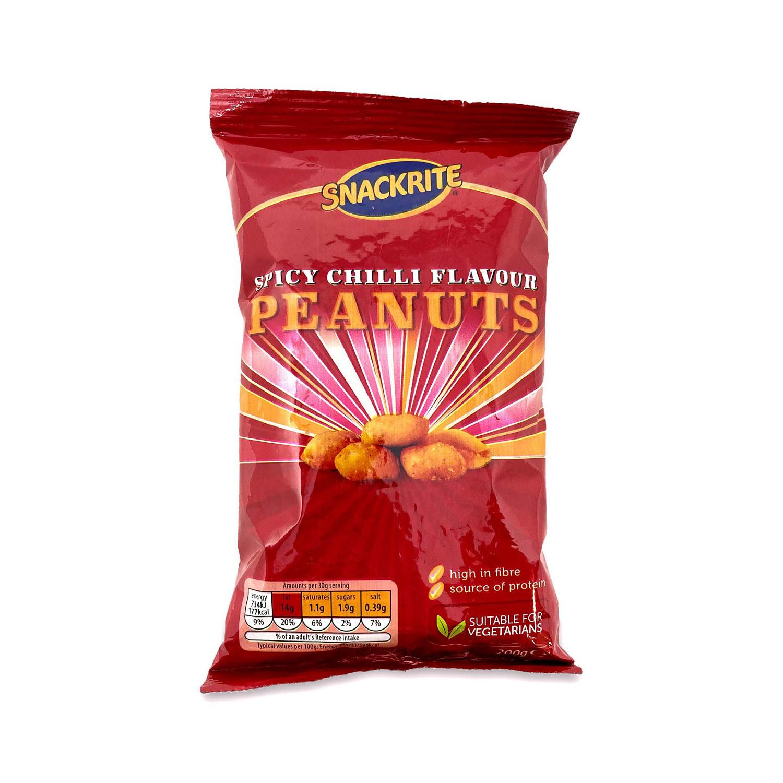 Spicy Chilli Peanuts