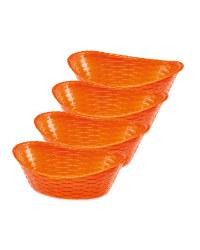 Chip Baskets - Orange