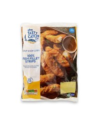 Chip Shop Curry Fish Fillet Strips