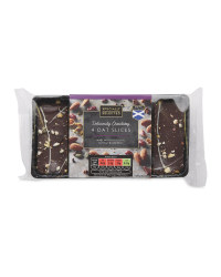 Chocolate Fruit & Nut Oat Slices
