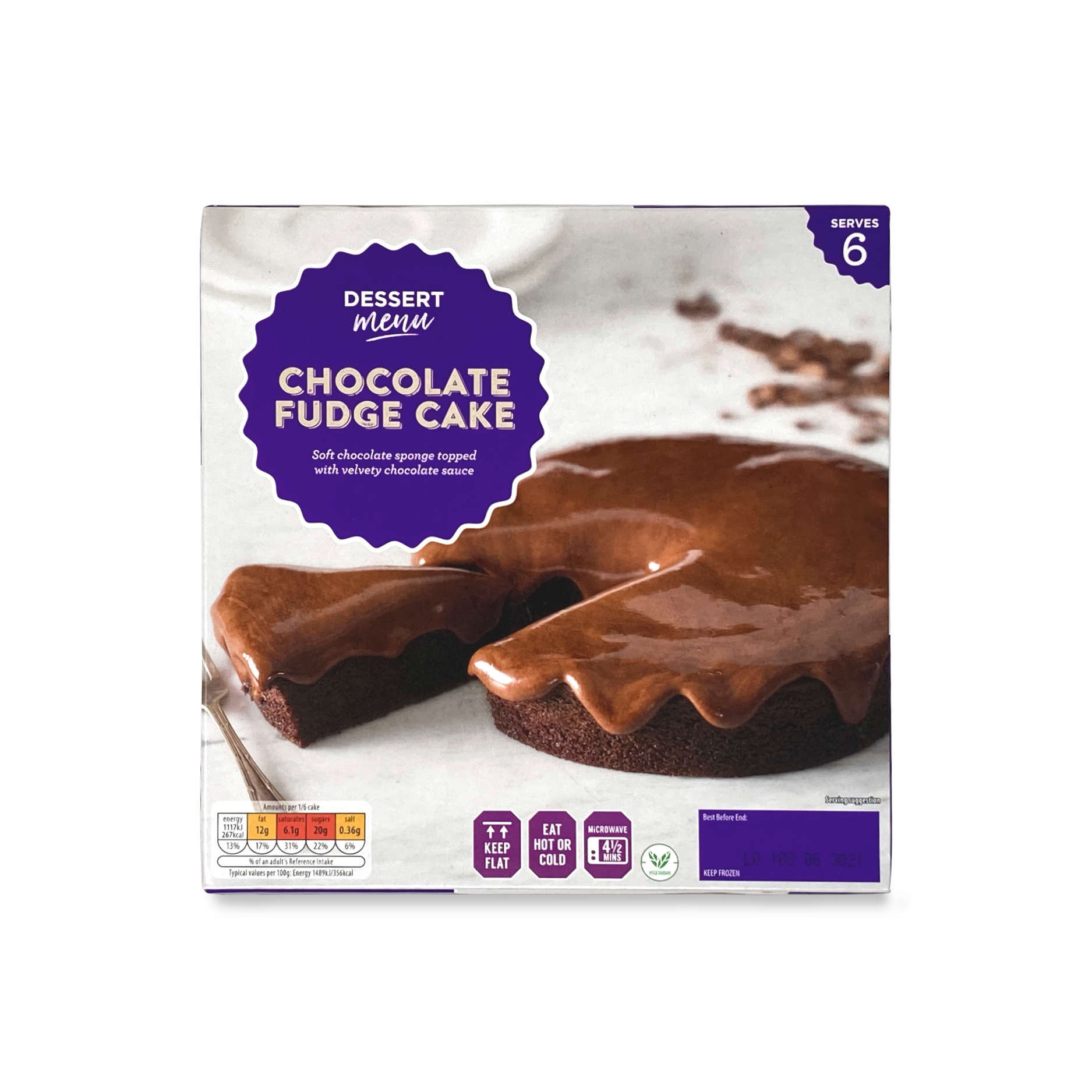 Chocolate Fudge Cake Aldi Uk