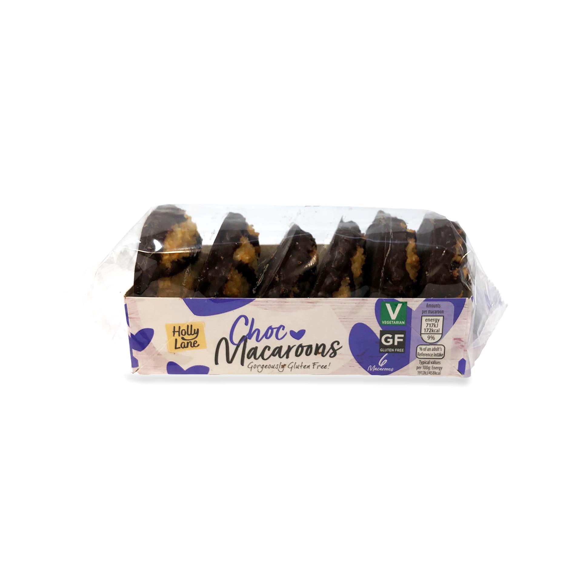 6 Choc Macaroons
