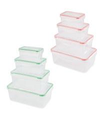 Rectangle Clip Lid Storage Boxes