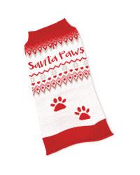 Christmas Pet Jumper Santa Paws