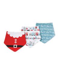 Christmas Santa Dribble Bibs