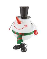 Christmas Wobble Snowman
