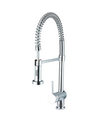 Chrome Spiral Kitchen Mixer Tap