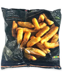 Crispy And Golden Chunky Oven Chips