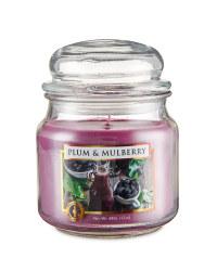 Plum & Mulberry Jar Candle