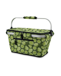 Citrus One-Handle Shopping Basket