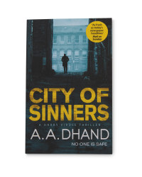 City Of Sinners Paperback Book