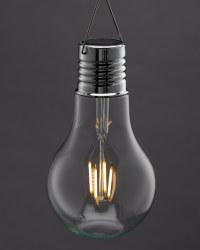 Classic Large Solar Light Bulb