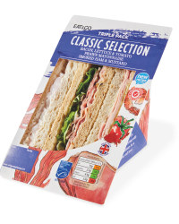 Classic Selection Triple Sandwich