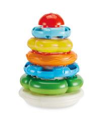 Clementoni Stacking Rings Baby Toy