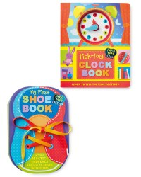 Clock and Shoe Book Bundle