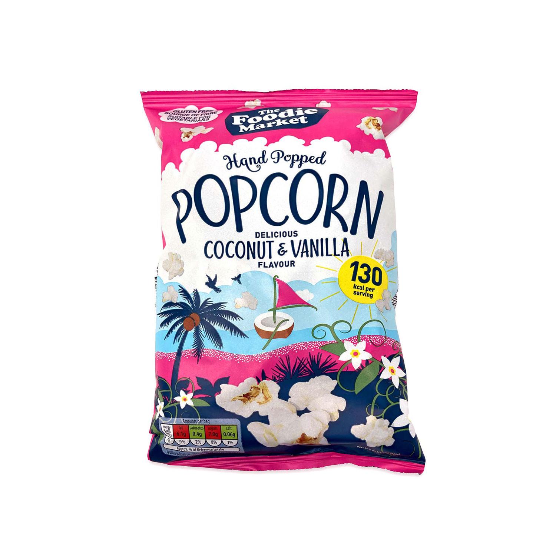 Popcorn Coconut & Vanilla Flavour