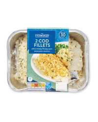 Cod Fillets With Parsley Sauce
