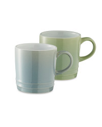 Coffee Cups 2 Pack - Mint/Blue