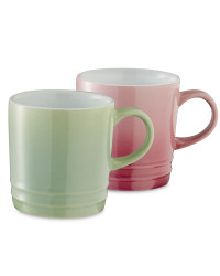 Coffee Cups 2 Pack - Purple/Green