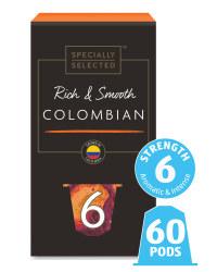 Columbian Coffee Pods Bundle 6 Pack