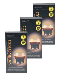 Colombian Coffee Pods Bundle 3 Pack