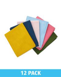 Block Colour Fat Quarters 12 Pack