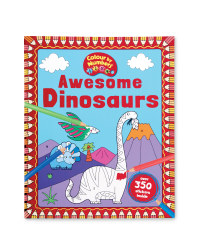 Colour By Numbers Dinosaurs
