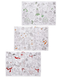 Colour Me In Placemats 2 Pack