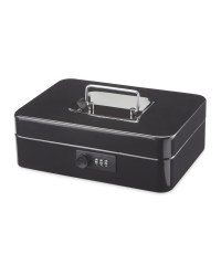 Combination Cash Box - Black