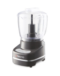 Ambiano Small Food Processor - Gunmetal