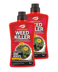 Concentrated Weedkiller 2 Pack