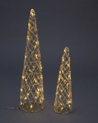 Perfect Christmas LED Cone Set