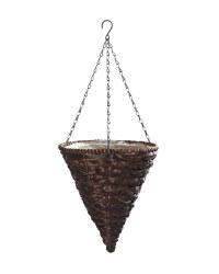 Gardenline Cone Hanging Baskets - Brown