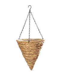 Gardenline Cone Hanging Baskets - Natural