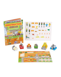 Construction Vehicles Activity Set