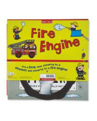 Convertible Fire Engine Board Book
