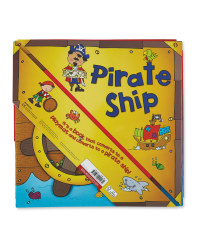 Convertible Pirate Ship Board Book