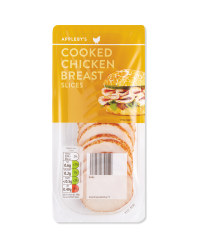 Cooked Chicken Breast Slices